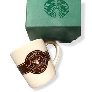 Starbucks Original Pike Place Logo Mini Shot Glass